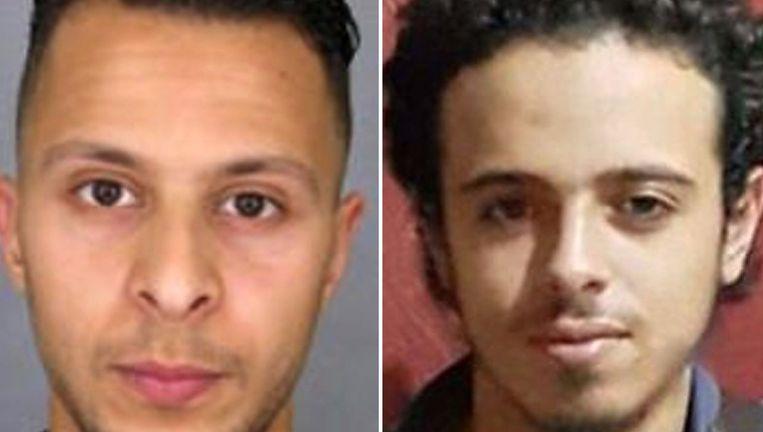 De voortvluchtige Salah Abdeslam en de omgekomen Bilal Hadfi.