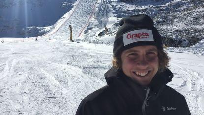 """Skiër Sam Maes wil vaste waarde worden in top 30 op reuzenslalom: """"Al meer een ster in Oostenrijk dan in België"""""""