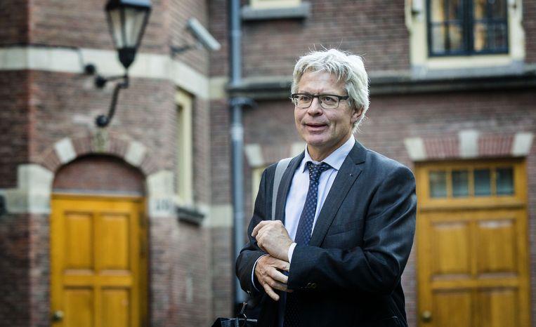 Burgemeester Ferd Crone van Leeuwarden. Beeld anp