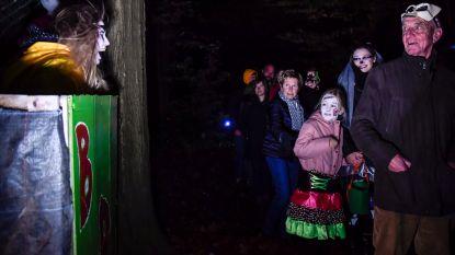 Halloweentocht in Lebbeke groot succes