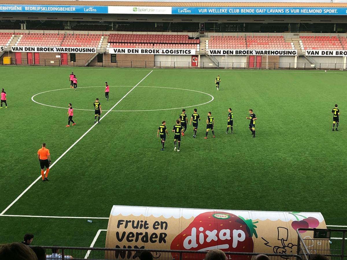 Helmond Sport oefende vrijdagavond tegen Al Raed