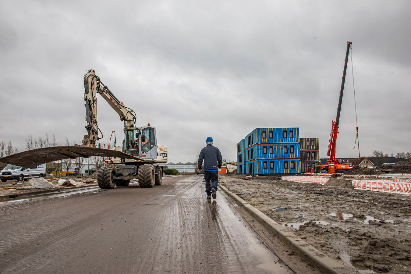 Plan elsenbosch krijgt vorm; huisvesting van arbeidsmigranten.