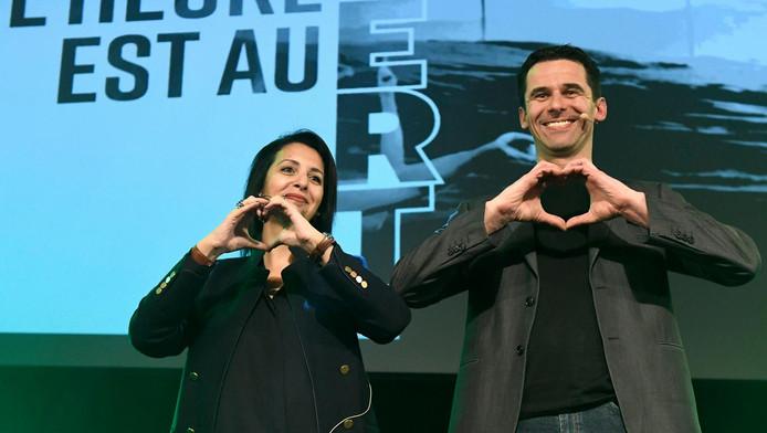 Zakia Khattabi et Jean-Marc Nollet ont lancé ce dimanche la campagne électorale d'Ecolo pour les élections de mai prochain.