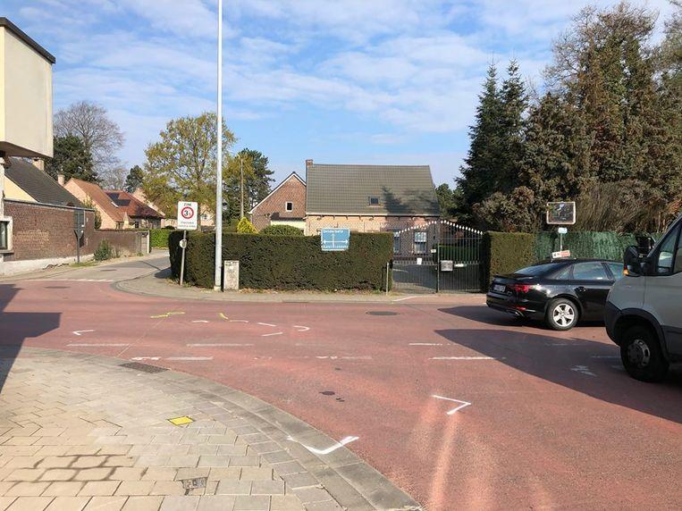 Het ongeval gebeurde aan de Wolvestraat en de Aalstersestraat in Wieze.