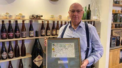 """Gepensioneerde bierhandelaar verzamelt al 50 jaar Trappist Westmalle-attributen: """"Ik krijg wel eens bezoek uit Scandinavië"""""""