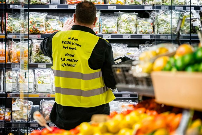 een Jumbo-supermarkt in Eindhoven.