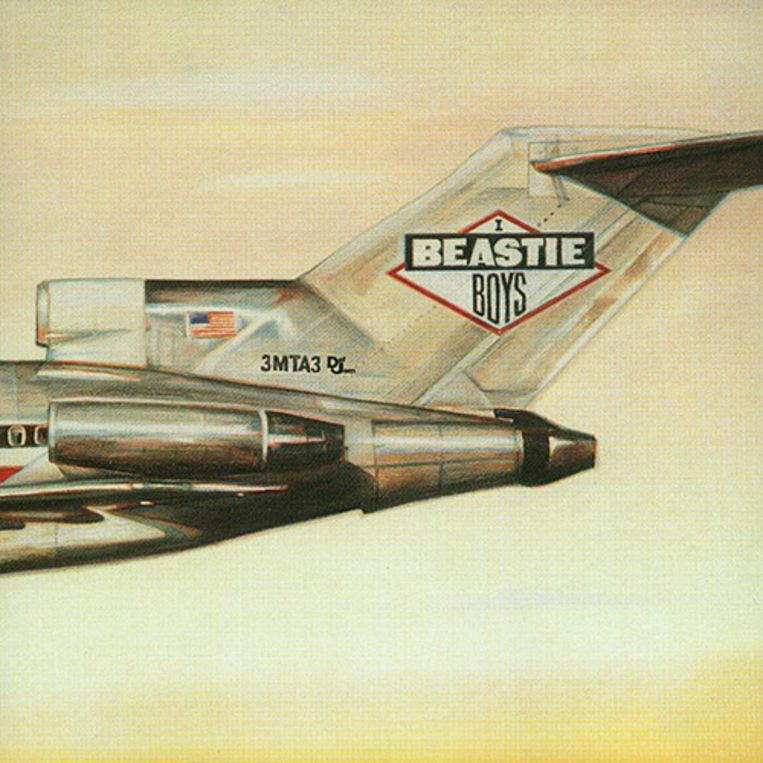 'Licensed to Ill', de legendarische debuutplaat van de Beastie Boys.