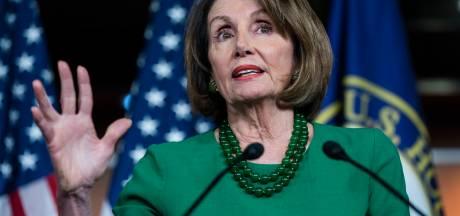 Trump noemt Pelosi 'derderangspolitica' tijdens gespannen ontmoeting