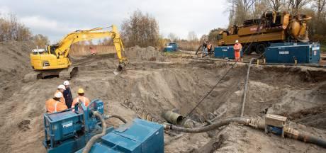 Breuk Berkel-leiding gevonden, reparatie duurt nog dagen