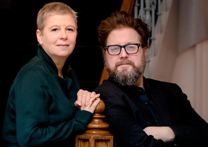 Filmmaker Martin Koolhoven en filmproducent Els Vandevorst. Het duo werkte samen aan de Nederlands-Amerikaanse western Brimstone.