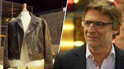 """Erik Van Looy verkoopt iconische lederen vest van Paul Jambers: """"Voor een goed doel? Ja, we gaan uit eten"""""""
