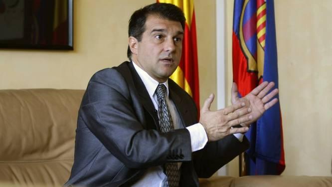Oude bekende stelt zich kandidaat voor voorzitterschap Barça