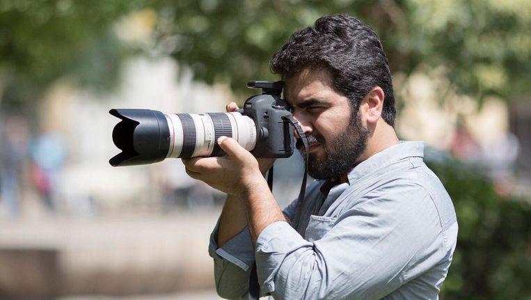 Kamaran Najm De Iraaks-Koerdische fotograaf raakte in 2014 gewond aan het front bij Kirkuk. Hij meldde nog dat IS hem had opgepakt. Sindsdien is niets van hem vernomen. Beeld RV
