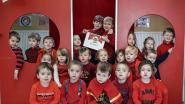Rode soep in de kleuterschool Valkenberg in Brakel levert 128,10 euro op voor Rode Neuzendag