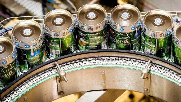 Heineken voor de Amerikaanse markt wordt in Zoeterwoude gebrouwen Beeld ANP