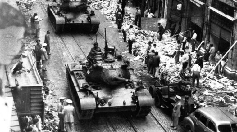 In de jaren vijftig vonden pogroms op grieks-orthodoxe christenen plaats. (Trouw) Beeld