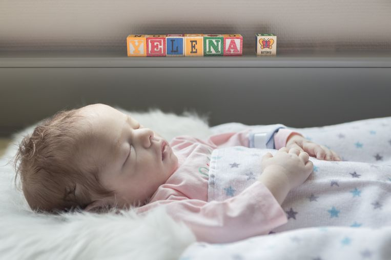 De vzw Boven De Wolken zorgde voor een mooie foto van Yelena, als herinnering voor ouders Johan en Debbie.