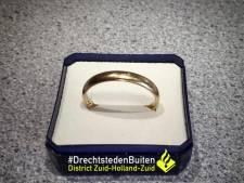 Politie Zwijndrecht zoekt eigenaar trouwring, partner van Tiny