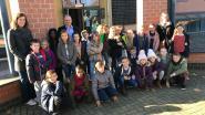Kinderen vierde leerjaar bezoeken gemeentehuis
