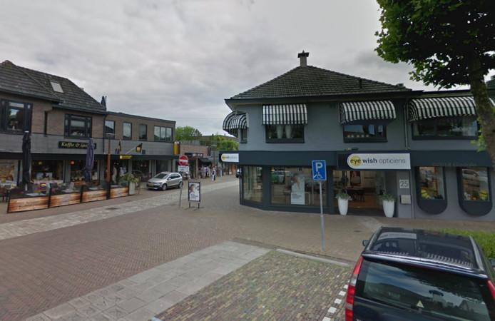 De winkel van Eye Wish Opticiens aan de Grotestraat in Tubbergen.