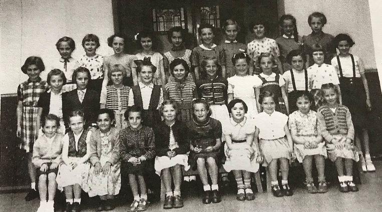 Het klasje van 1950-1951.