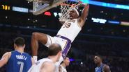 LA Lakers verslaan Luka Doncic en co, LeBron James rondt kaap van 9.000 assists
