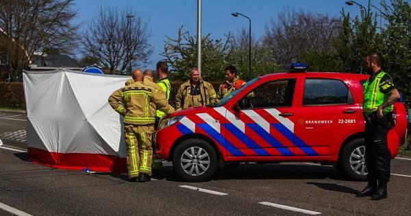 Fietser overleden door botsing met vrachtwagen in Handel.