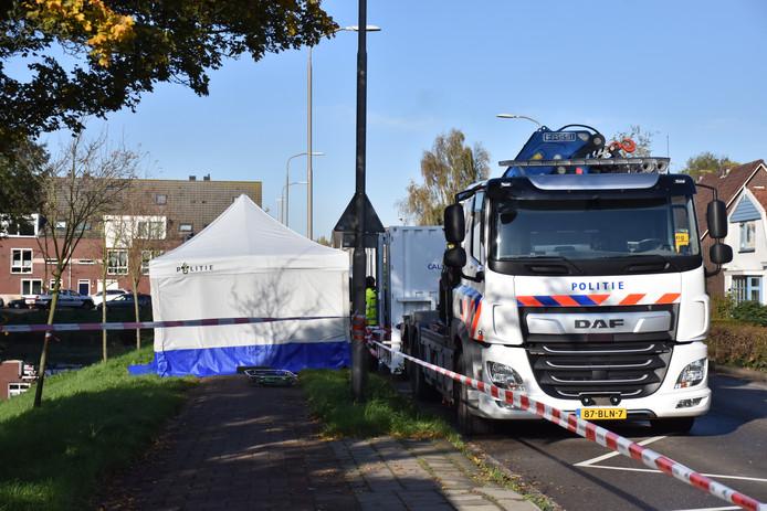Overleden persoon aangetroffen langs Bleiswijkseweg Zoetermeer