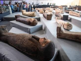 Archeologen vinden ruim honderd sarcofagen in Egypte