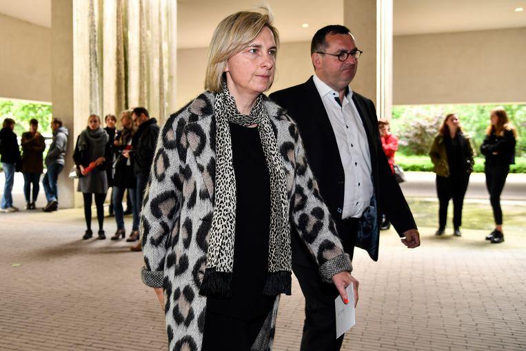 Minister Hilde Crevits is een oud-studiegenote van wijlen Michel Du Tré.