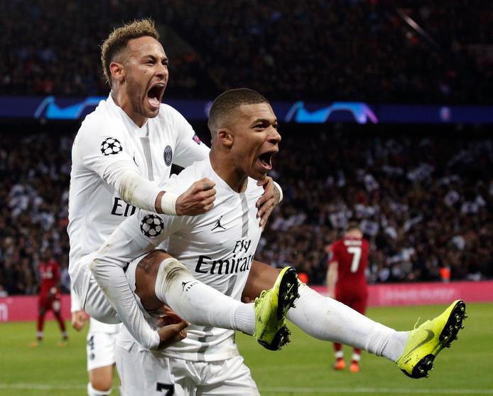 Neymar en Kylian Mbappé, de absolute sterren van PSG.