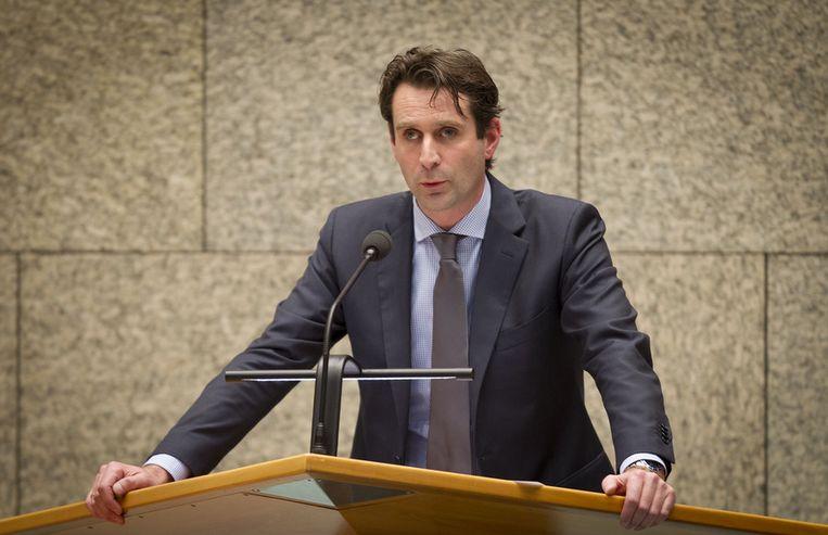 PvdA-Kamerlid Michiel Servaes Beeld null