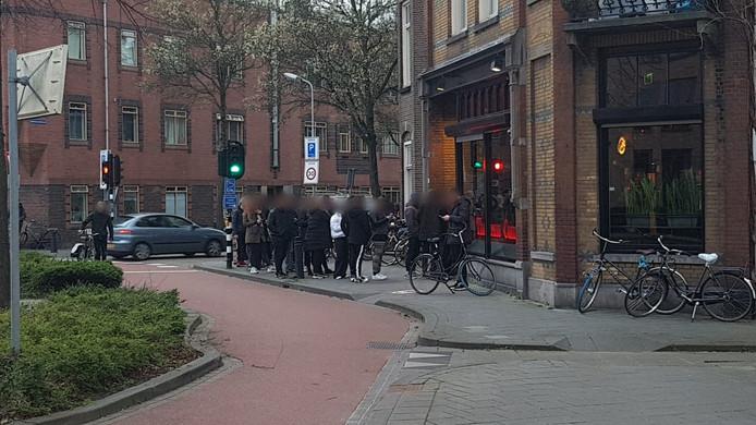 Grote drukte bij coffeeshops in het Bossche centrum