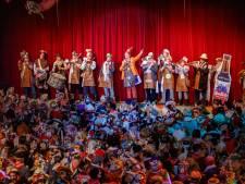 Dweilbandfestival ouderwets druk en vol show