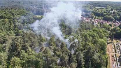 Tweede bosbrand uitgebroken in Zoniënwoud