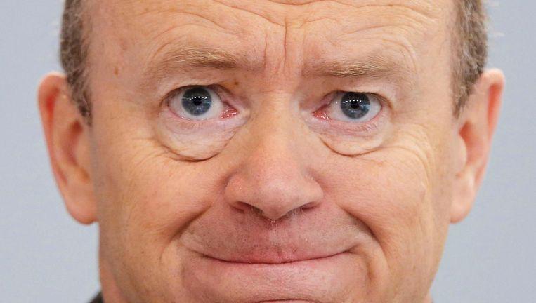 Deutsche Bank-CEO John Cryan. De Brit werd vorig jaar binnengehaald als redder in nood. Beeld AP