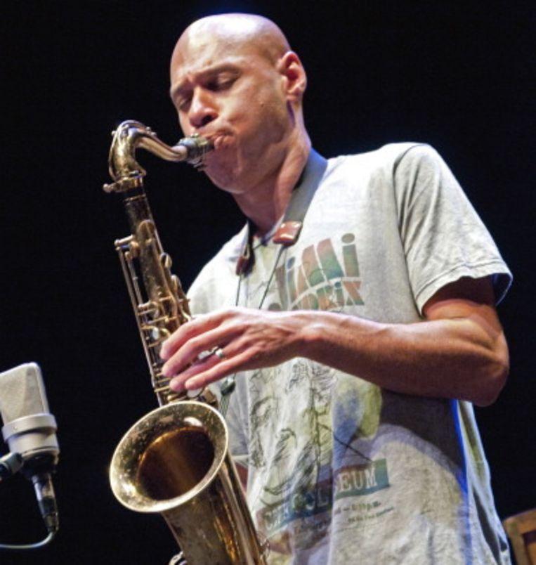 Joshua Redman, dit jaar 'artist in residence' op NSJ. Beeld Getty