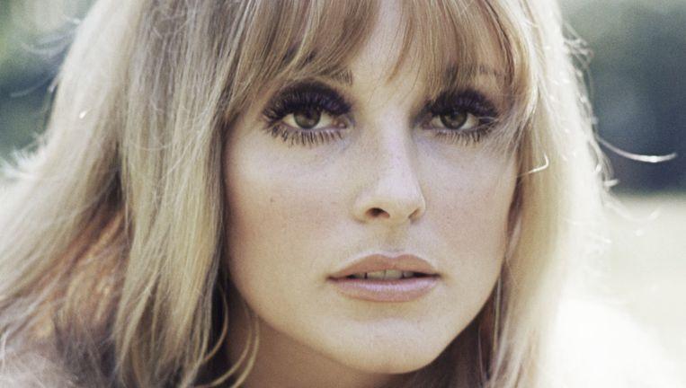 Sharon Tate rond 1965. Beeld Getty