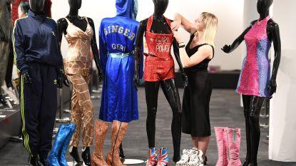 Tentoonstelling kleding Spice Girls is open