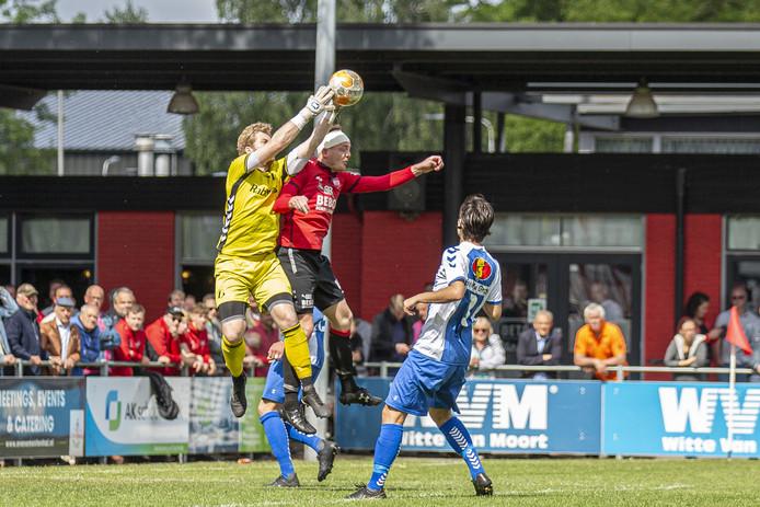 Voor DETO begint de nacompetitie ver van huis, de ploeg speelt in Zeeland tegen Kloetinge.