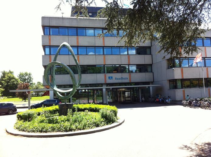 Het gemeentehuis van Ede. Foto: DG