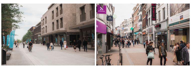 Quartier Bleu vs Binnenstad Hasselt.