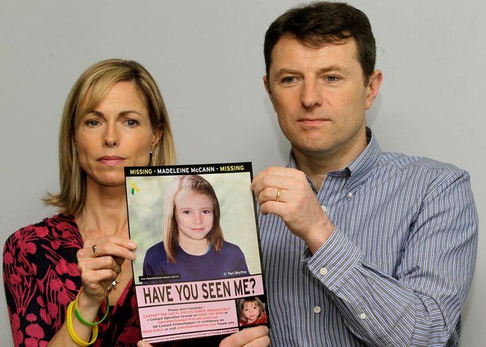 Kate en Gerry McCann, de ouders van Maddie.