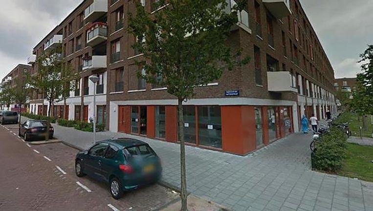 In dit pand vond de eerste aanslag plaats Beeld Google Streetview