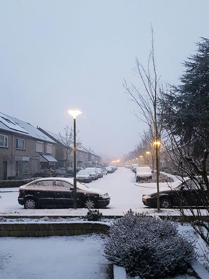 Sneeuw in Sint Oedenrode.