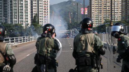 Politie Hongkong schiet met scherp op 70ste verjaardag Volksrepubliek, betoger zwaargewond