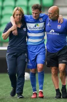 Strieder voorlopig niet inzetbaar voor PEC Zwolle, blessures Saymak en Lam vallen mee