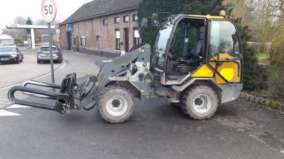 Politie haalt vijftienjarige met tractor van de baan