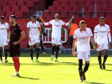 Quatre buts en quatorze minutes: la victoire spectaculaire de Séville face à la Sociedad