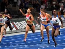 Vrouwen sprinten naar zilver op 4x100 meter, mannen grijpen brons